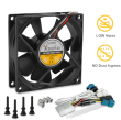 AcoustiFan: DustPROOF 80mm fan