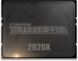 Ryzen Threadripper 2920X 3.5GHz, 12C/24T, 38MB cache, 180W CPU