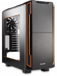 Silent Base 600 Orange Chassis with Window, BGW05