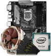 Quiet PC Intel 7th Gen CPU and ATX Motherboard Bundle
