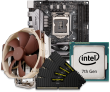Quiet PC Intel 7th Gen CPU and mini-ITX Motherboard Bundle