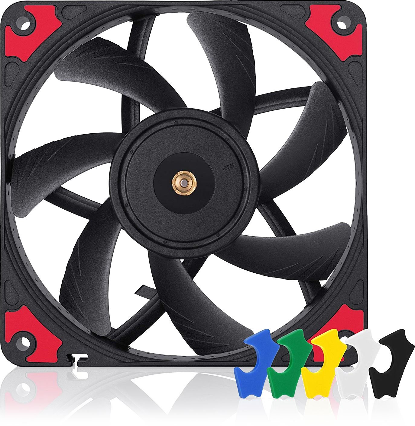 12V White Blade F12 PWM 120mm 4-Pin PWM fan with standard case ARCTIC