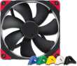 NF-A14 PWM chromax.black.swap 12V 1500RPM 140mm Fan