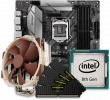 Quiet PC Intel CPU and micro-ATX Motherboard Bundle