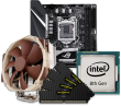 Quiet PC Intel 8/9th Gen CPU and mini-ITX Motherboard Bundle